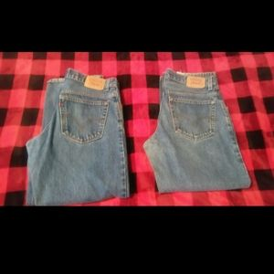 Levi's lot of 2 jeans  12h 32x27